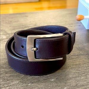 Men's Liz Claiborne handcrafted brown belt